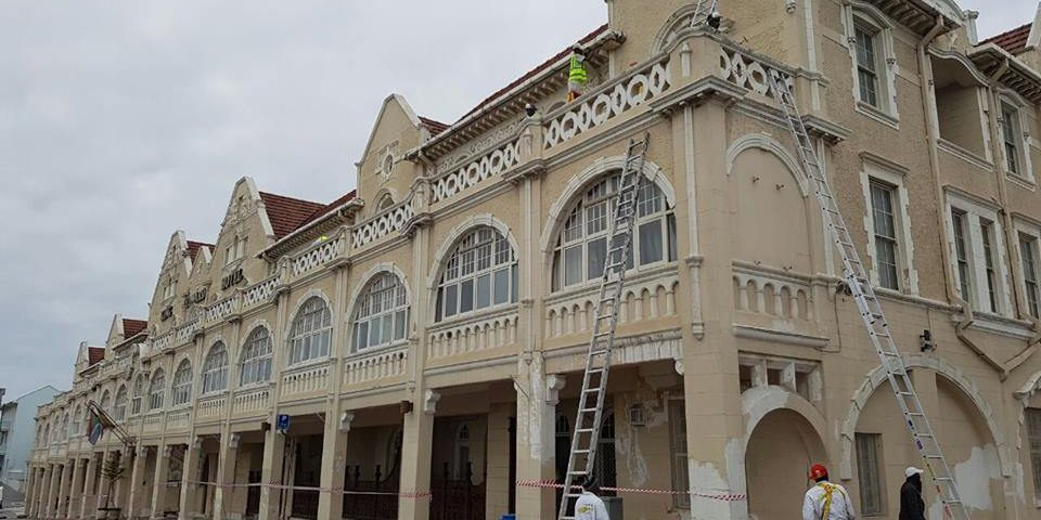 King Edward Hotel Painting Contractor & Restoration - Dafco Port