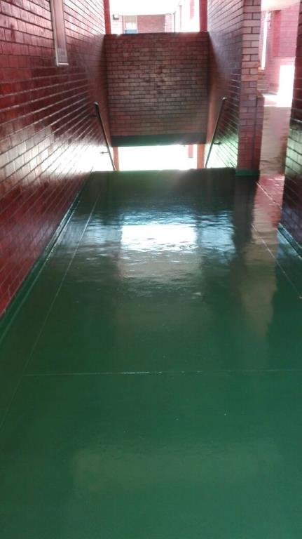 Epoxy Roof Paint : High performance durable epoxy flooring contractor for