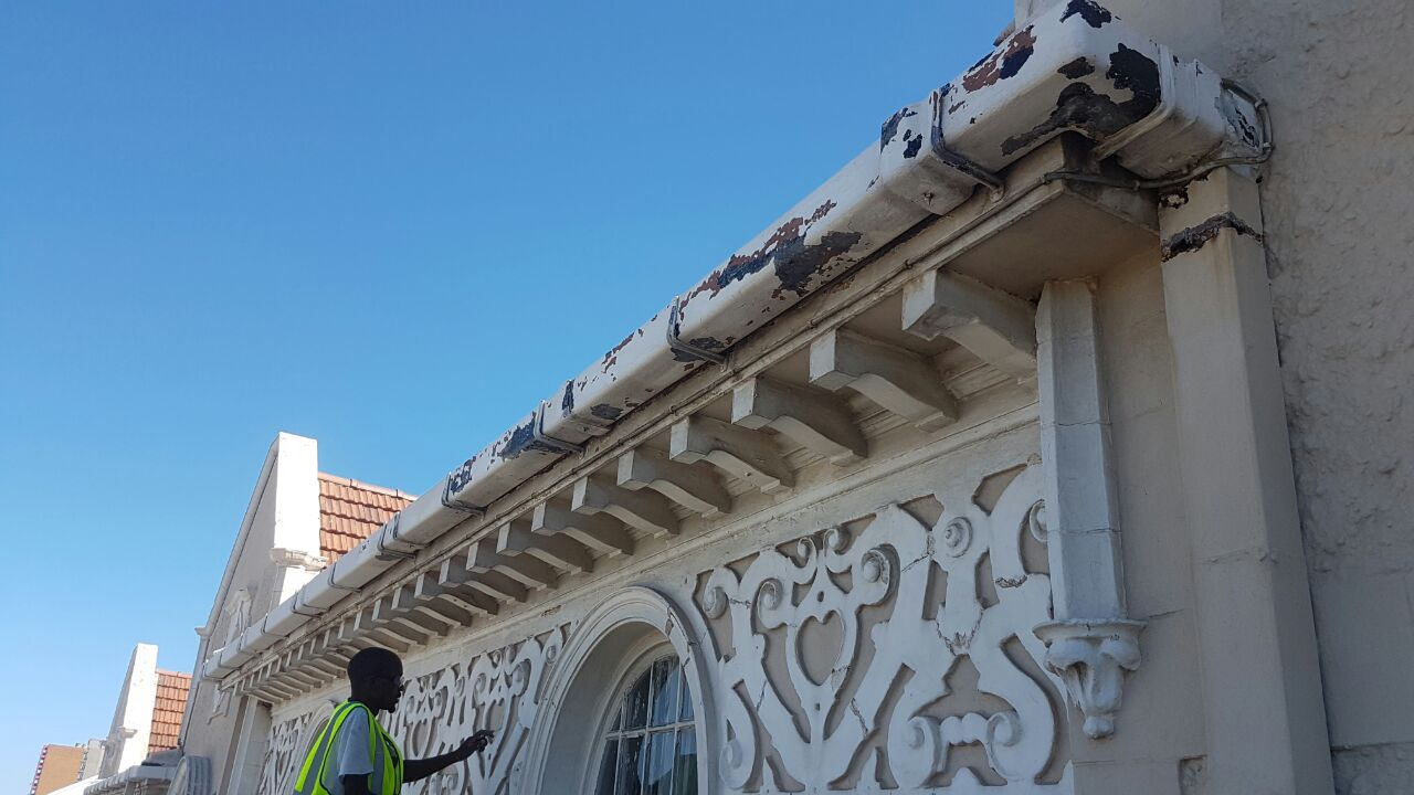 king edward facade repair