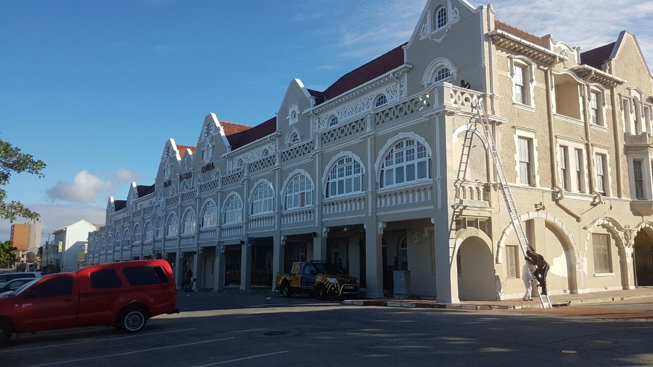 port elizabeth old building painting contractor