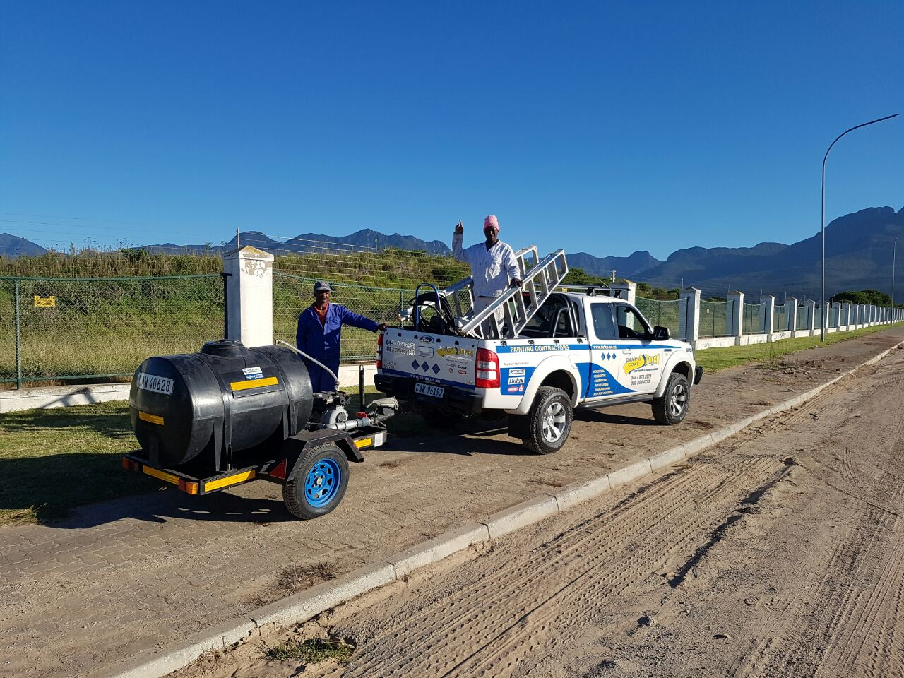 fancourt painting contract surface prep