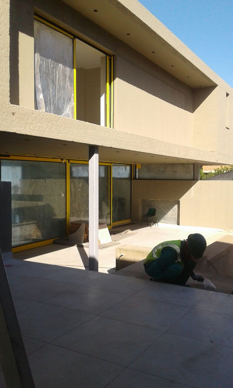 textured and smooth residential painting finish knysna